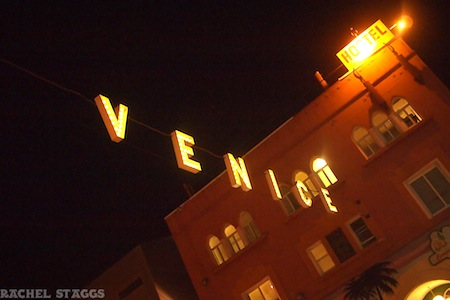 venice beach sign los angeles california iconic