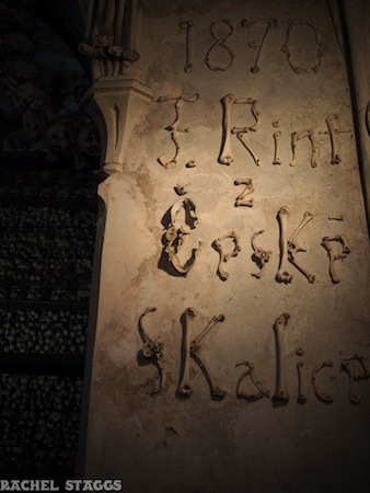 bohemia sedlec bone church sedlec ossuary czech republic europe