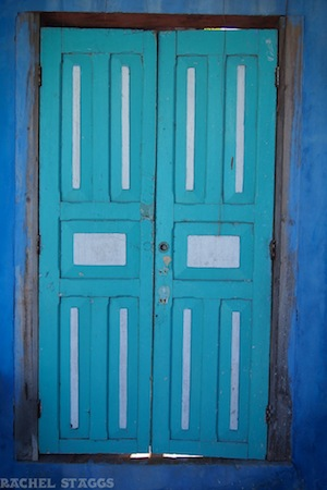 painted doors Lolo Lorena