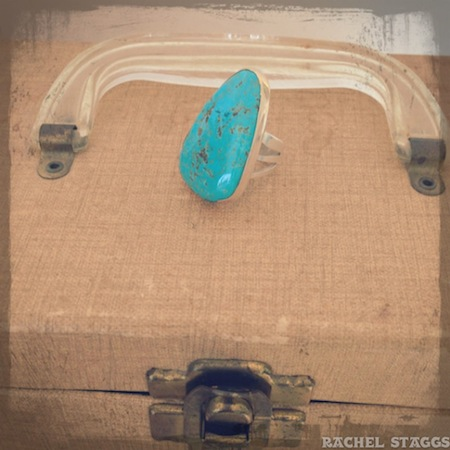 santa fe new mexico native american turquoise ring santo domingo pueblo nick garcia
