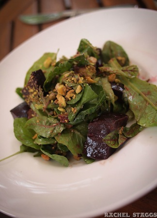 santa fe new mexico vinaigrette restaurant roasted beet salad