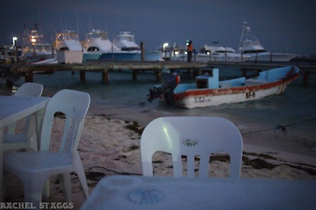 dine with your feet in the sand isla mujeres waterfront restaurant