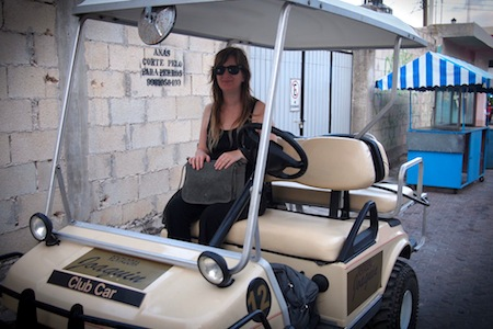 isla mujeres quintana roo mexico golf cart rental travel