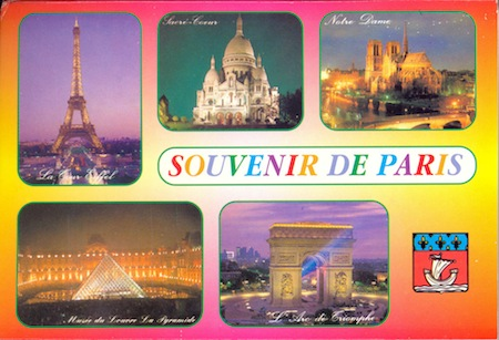 vintage paris postcards france