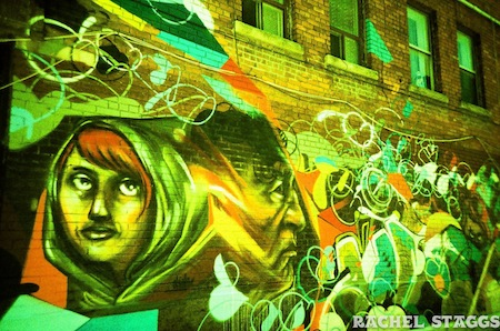 graffiti west queen west toronto ontario canada street art