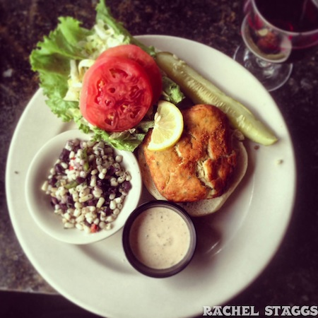 norfolk virginia no frill grill crab cake
