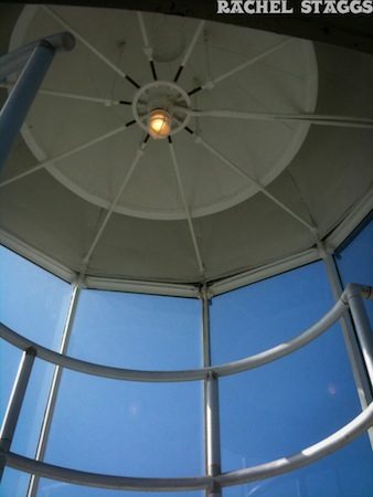 port isabel lighthouse ceiling