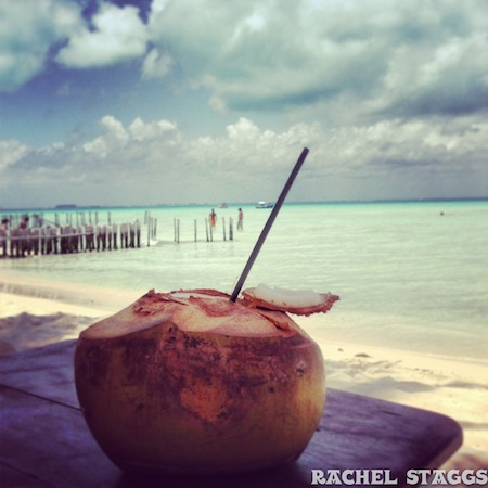 coconut water isla mujeres