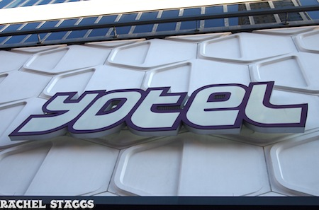 YOTEL sign NYC