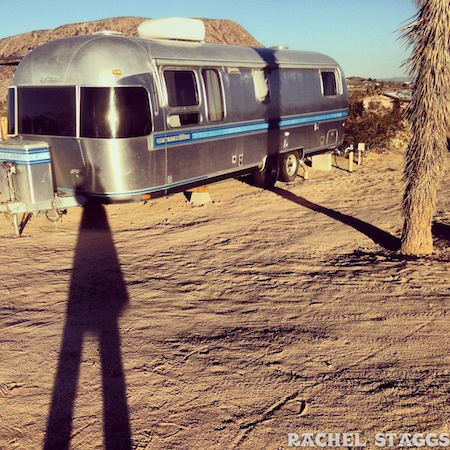 kate's lazy desert airstream trailer