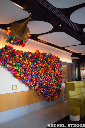 yotel new york installation art