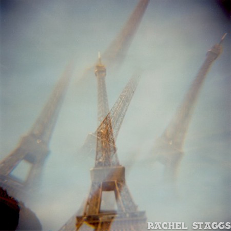 eiffel tower multiple exposure