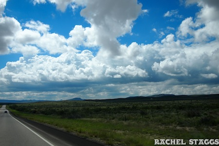 west texas clouds