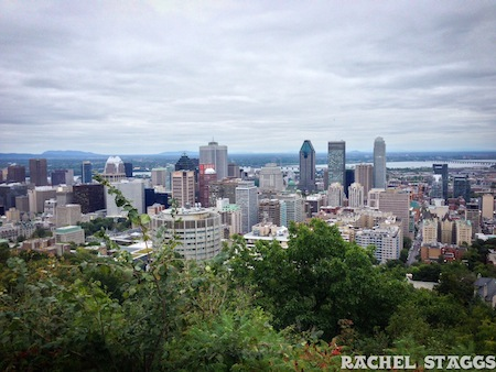 top of mont royal