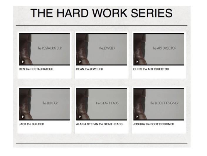 Hard Work Film Series