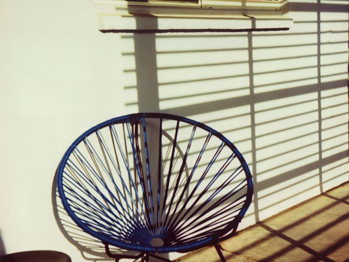 Acapulco Chair, Marfa, Texas